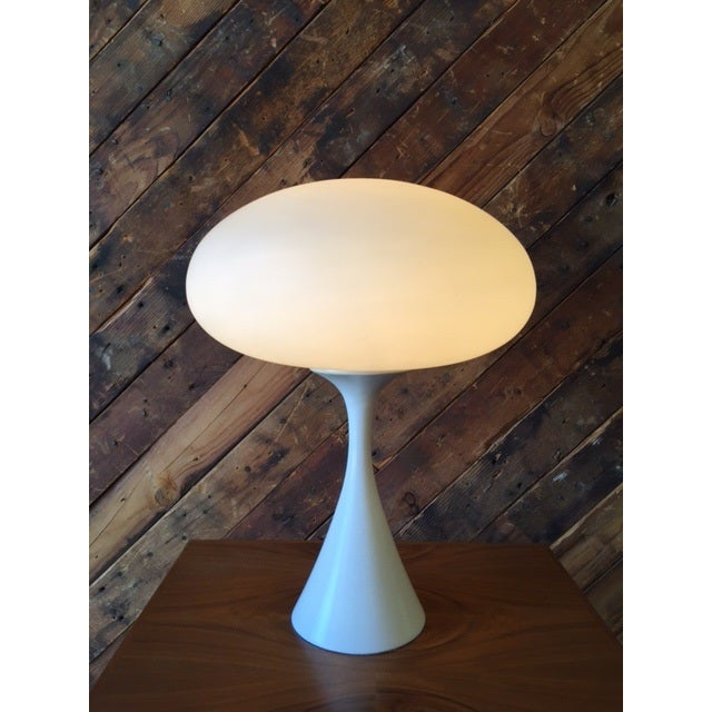 Bill Curry Mid-Century Mushroom Lamp - Image 3 of 4