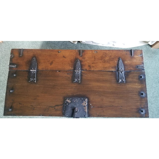 Asian Antique Korean Dowry Small Chest For Sale - Image 3 of 12