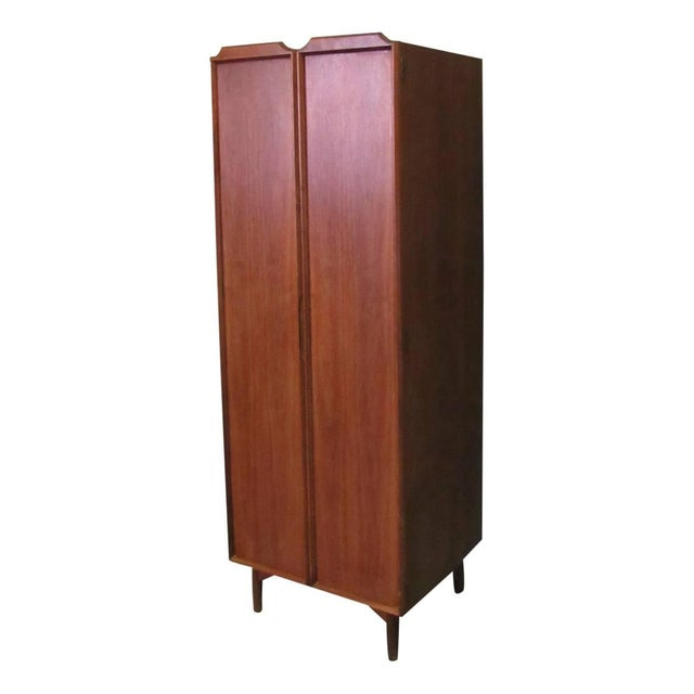 Wood John Keal Dressing Cabinet Brown Saltman of California For Sale - Image 7 of 9