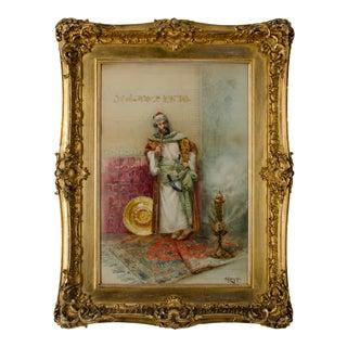 Giovanni Antonio Raggi Orientalist Painting For Sale