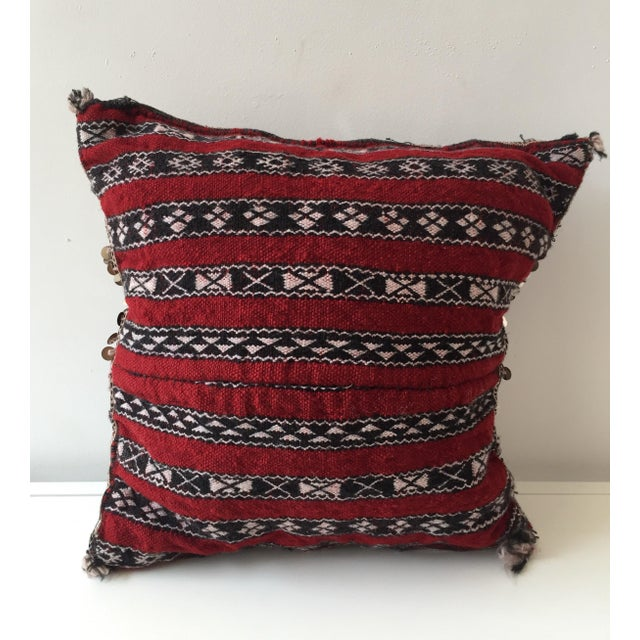 Moroccan Dhurrie Pillow - Image 3 of 8