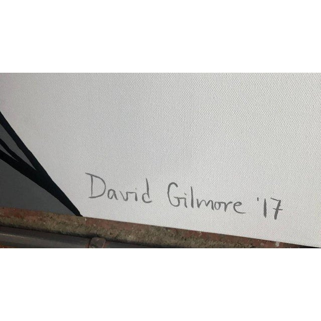 Painting on Canvas by David Gilmore For Sale - Image 5 of 7