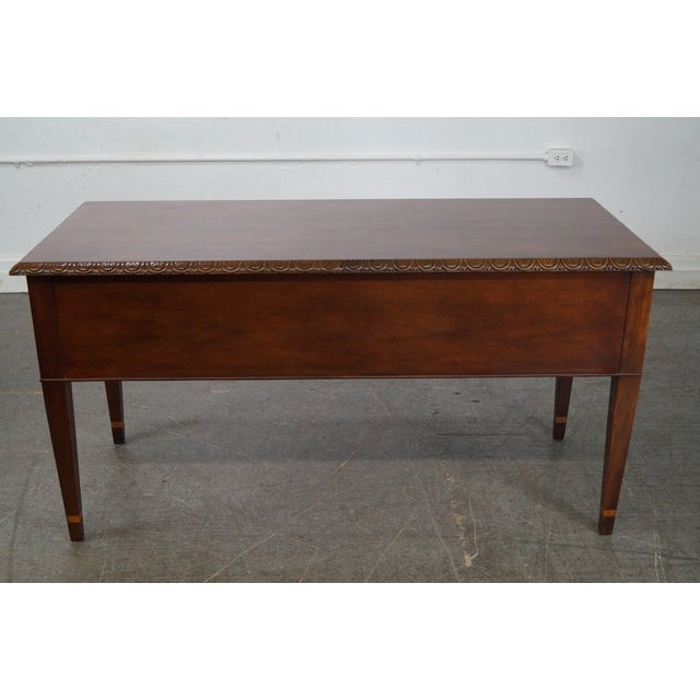 Baker Historic Charleston Collection Mahogany Chippendale Style Desk - Image 4 of 10