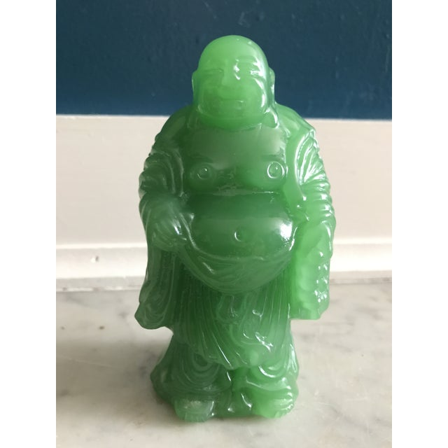 Vintage Jade Buddha Statue For Sale In Boston - Image 6 of 6