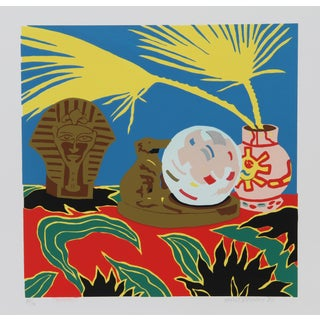 Hunt Slonem, Crystal Ball, Serigraph