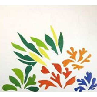 Matisse 'Le Acanthe' Lithograph Exhibition Poster