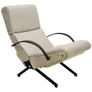 Adjustable P40 Lounge Chair by Osvaldo Borsani for Tecno For Sale