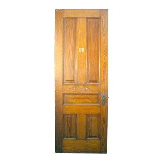 Pine Five Panel Interior Door