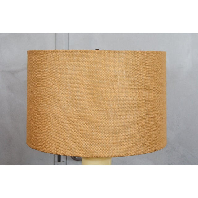 1960s Mid-Century Ceramic Lamps For Sale - Image 5 of 6
