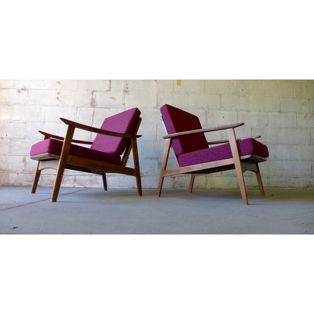 Mid-Century Modern Lounge Chairs - A Pair - Image 2 of 7