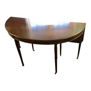 Mahogany Hunt Style Table
