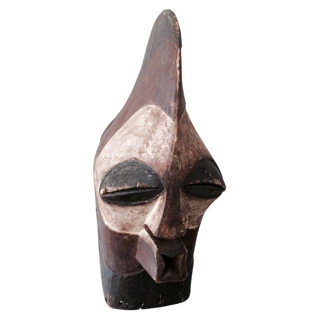 """Antique Songeye Kiwebe """"Police"""" Tribal Mask - Image 1 of 4"""