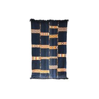 Vintage Jordanian Flatweave Rug For Sale