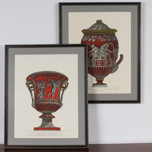 Framed Italian Piranesi Prints - a Pair For Sale - Image 9 of 11