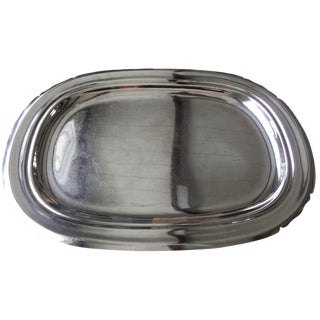 1940s Reed & Barton Silverplate Drinks Tray For Sale