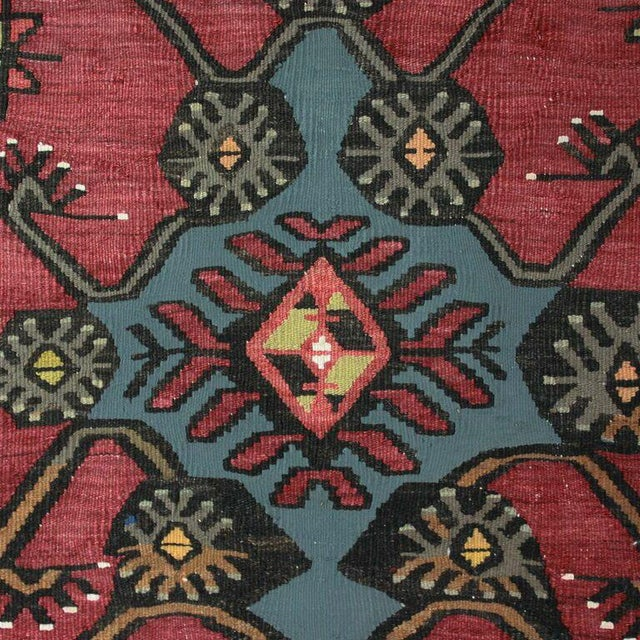 Vintage Turkish Moldovan Runner - 3'5'' x 13'' - Image 2 of 3