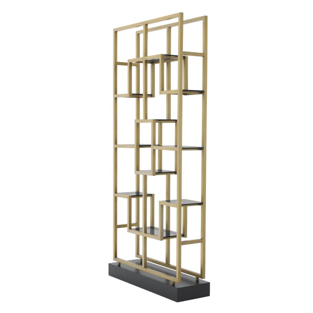 Chinese Multi-Level Decorative Cabinet | Eichholtz Lagonda For Sale - Image 3 of 7
