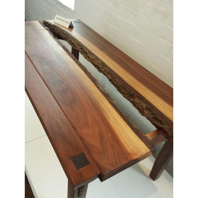 Custom Walnut Coffee Table - Image 3 of 4