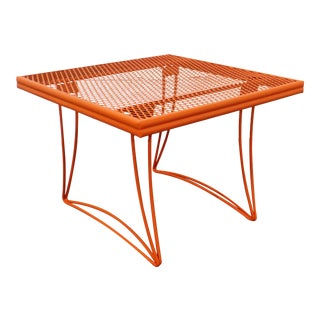 Mid-Century Modern Homecrest Bottemiller Metal End Table 1521 For Sale