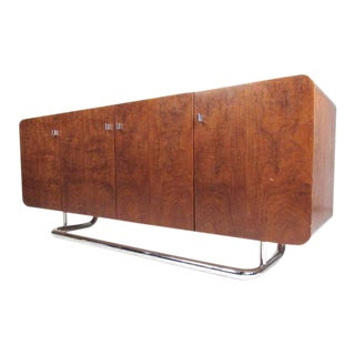 Milo Baughman Style Modern Sideboard for Founders For Sale