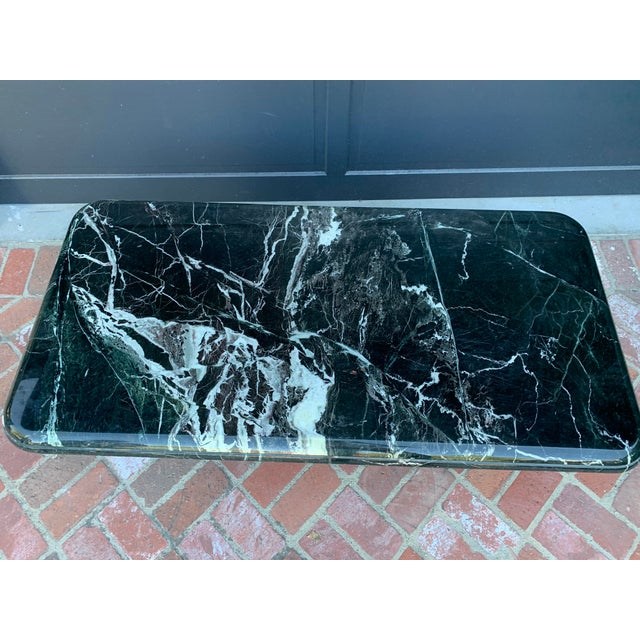 Modern Vintage Italian Marble Coffee Table For Sale - Image 3 of 7