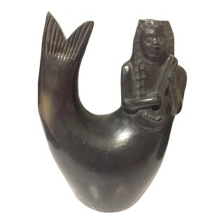 1970s Mermaid Candle Votive Holder For Sale