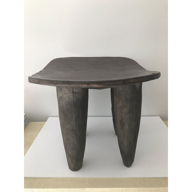 African Carved Senufo Stool - Image 5 of 9