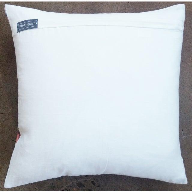 Orange Summer Velvet Pillow Cover - Image 3 of 3