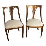 Image of Vintage Dining Chairs - A Pair For Sale