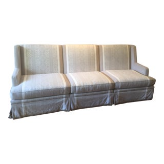 Ebanista Custom 3 Piece Sectional For Sale