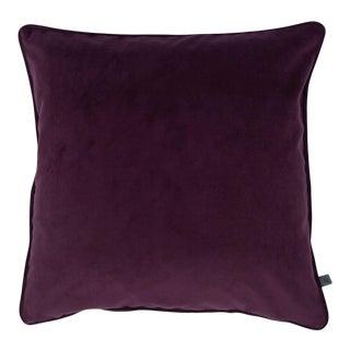 Contemporary Damson Purple Opulence Cushion For Sale