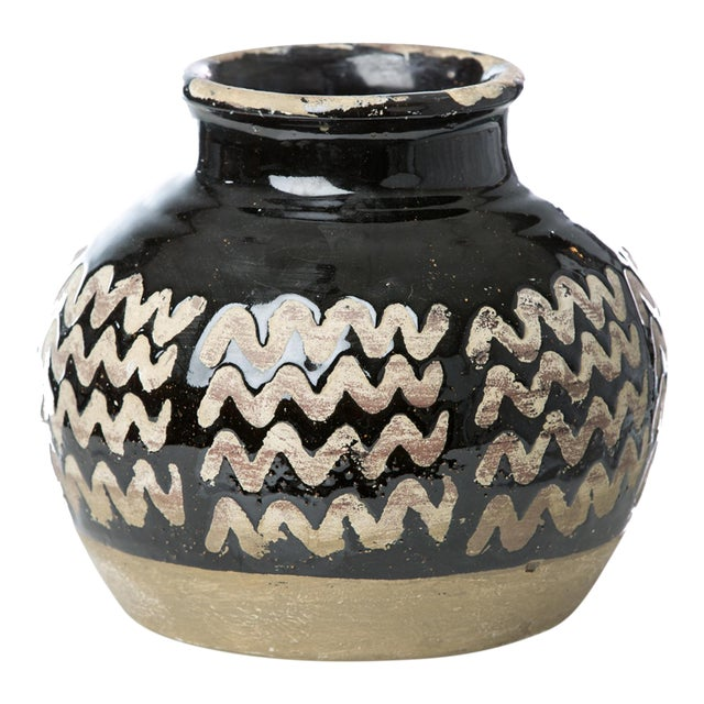 Vinci Moroccan Zig Zag Vase For Sale