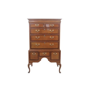 Antique 19th Century English Highboy For Sale