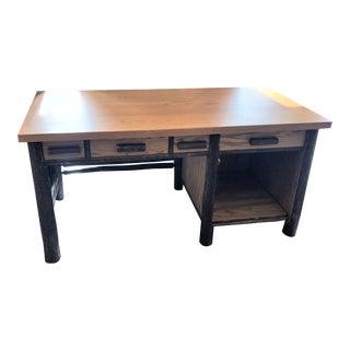 Old Hickory New Custom Desk For Sale