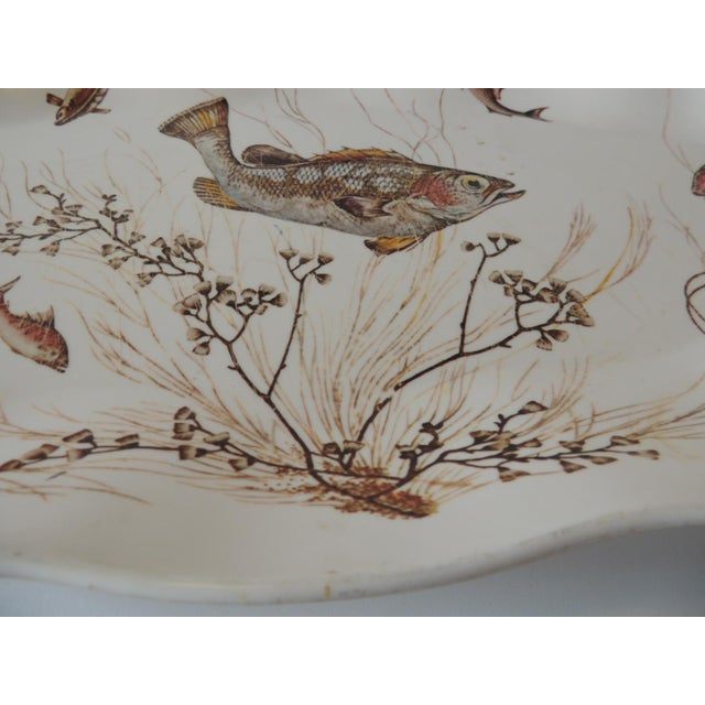 Early 21st Century Melamine Oval Serving Platter For Sale - Image 5 of 6