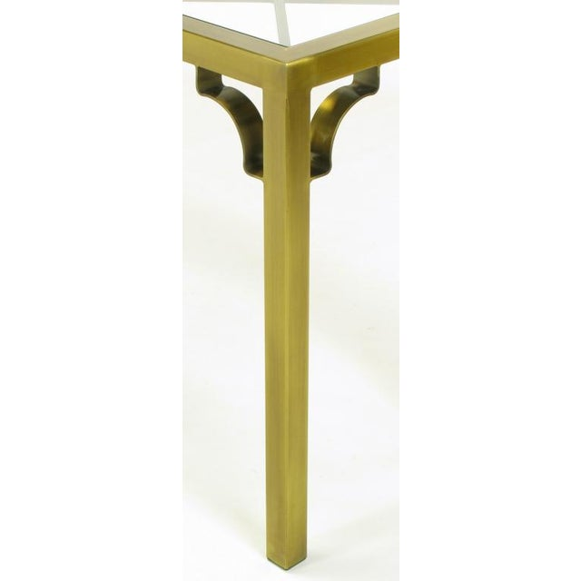 Mastercraft Brass Chinese Chippendale Console Table - Image 8 of 8