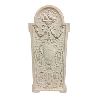 Grecian Plaster Wall Plaque