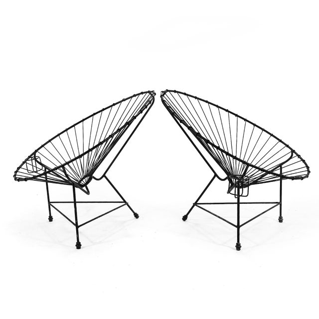 Mid-Century Modern Pair of Acapulco Chairs For Sale - Image 3 of 11