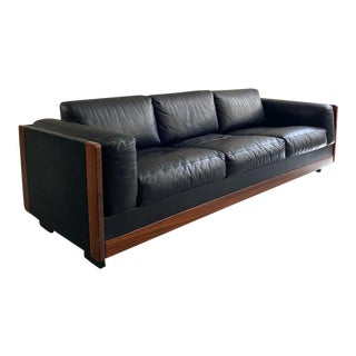 """1960s Mid-Century Modern """"920"""" Sofa Designed by Afra & Tobia Scarpa for Cassina For Sale"""