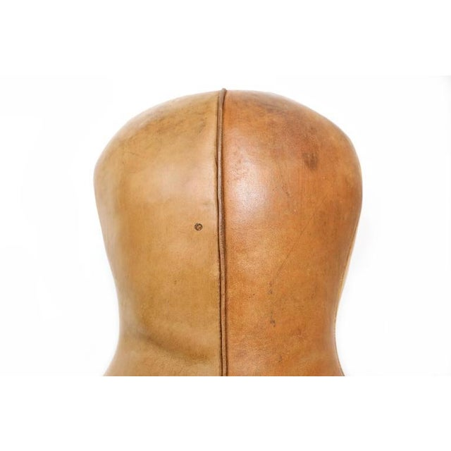 1920s Leather Boxing Doll For Sale - Image 5 of 7