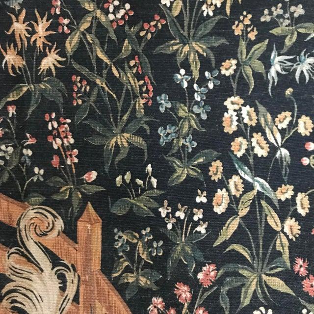 1970s 1970s Vintage Jp Paris Panneaux Gobelins Tapestry For Sale - Image 5 of 10