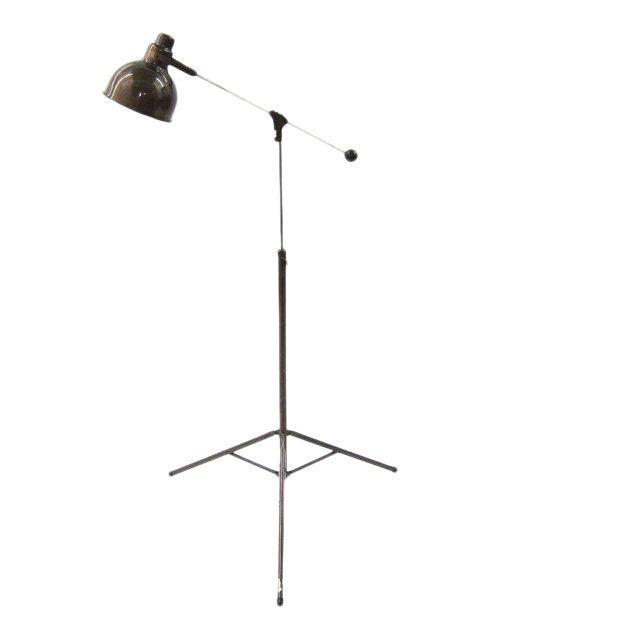 1960s Industrial floor lamp For Sale