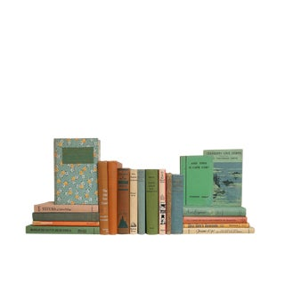 A New England State of Mind - Set of Twenty Decorative Books