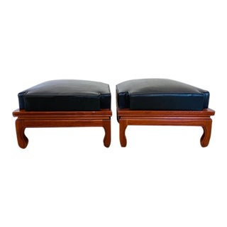 Mid-Century Ricardo Lynn Stacking Footstools - a Pair For Sale