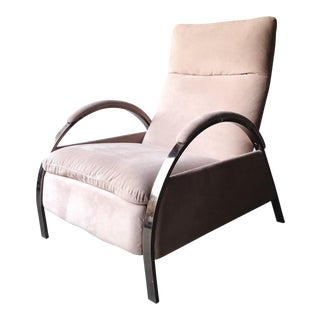 1980s Vintage George Mulhauser for Design Institute of America Lounge Chair For Sale