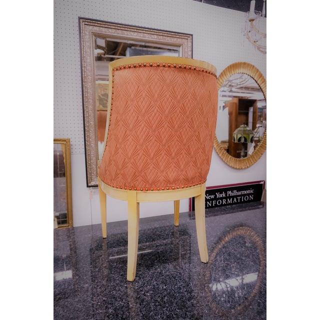 Faux Fur Deco Boudoir Chairs - A Pair - Image 5 of 10