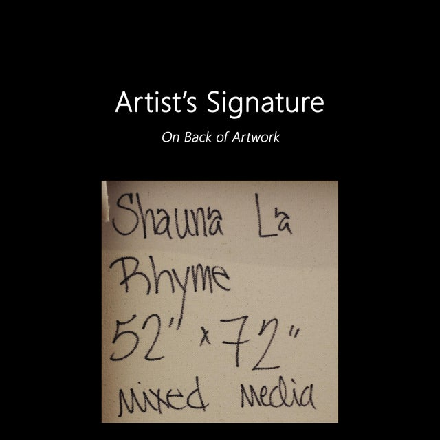 "Shauna La ""Rhyme"" Contemporary Painting For Sale - Image 9 of 9"