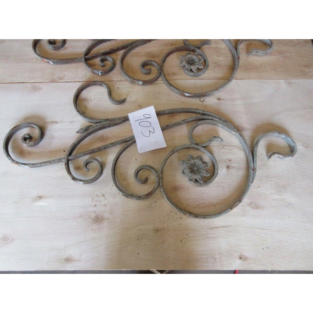 Antique Victorian Iron Gate Architectural Salvage - Image 4 of 5