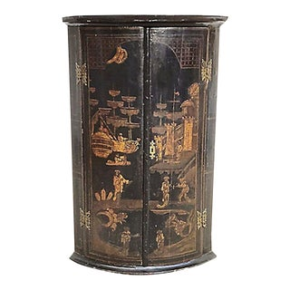 19th Century Chinoiserie Style Corner Cabinet For Sale