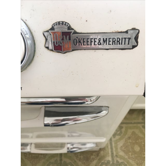 1950s Vintage O'Keefe & Merritt Stove With Griddle For Sale - Image 5 of 9